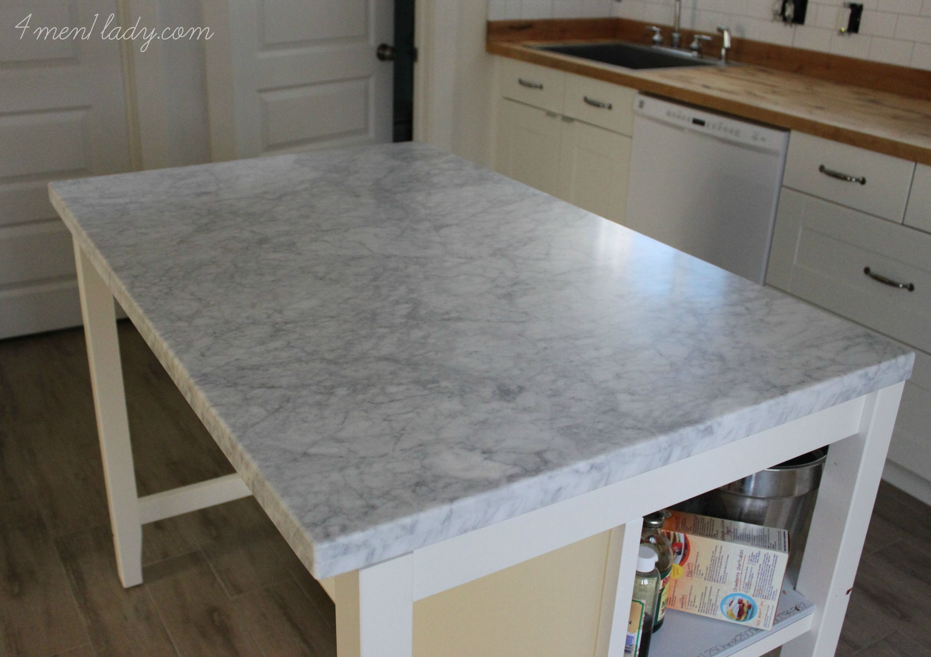 Ikea Stenstorp Kitchen Island Hack Diamonds Ain T Got Nothing On A Beautiful Piece Of Marble