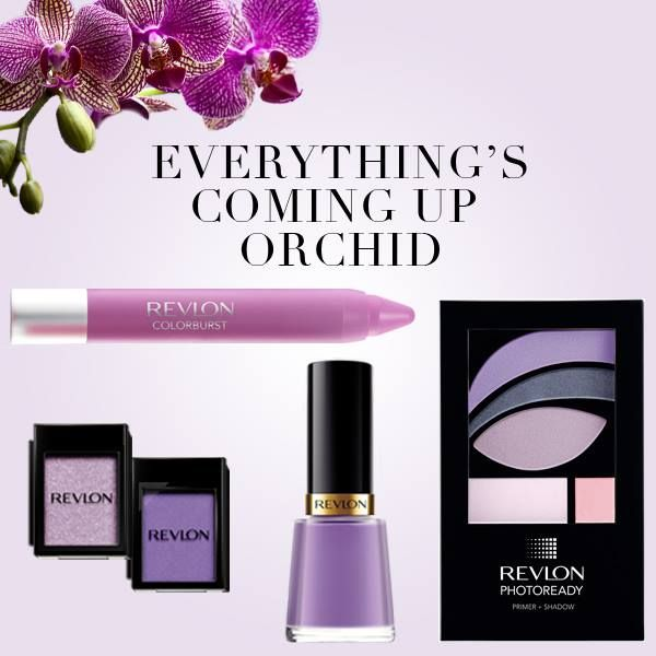 The 2014 Colour of the Year is Radiant Orchid. Embrace it with these picks from Revlon.