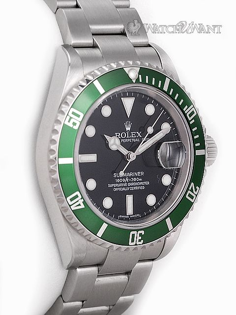 rolex oyster perpetual submariner date watch 50th anniversary edition