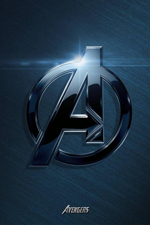 Avengers Logo Iphone X Wallpaper In 2020 Avengers Wallpaper Avengers Logo Marvel Wallpaper Hd
