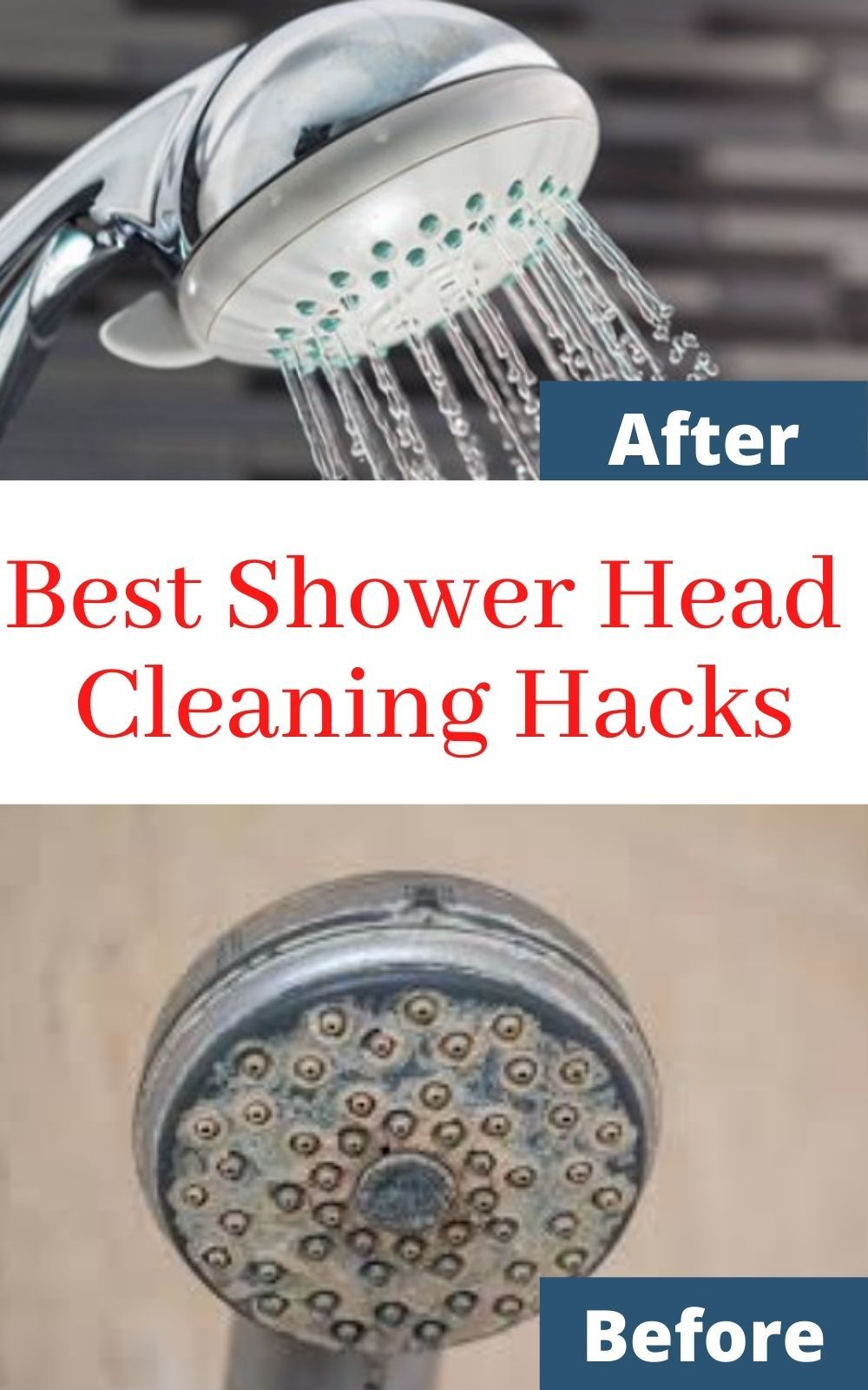 How To Get Shower Head Clean Shower Cleaner Shower Heads Cleaning Shower Head