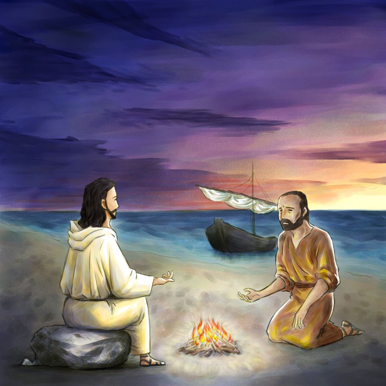"Jesus said to Peter. ""Do you love me?"" Jesus quotes"