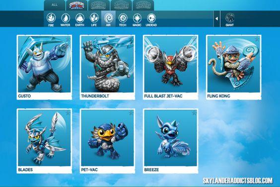 skylanders trap team characters - Google Search | skylanders ...