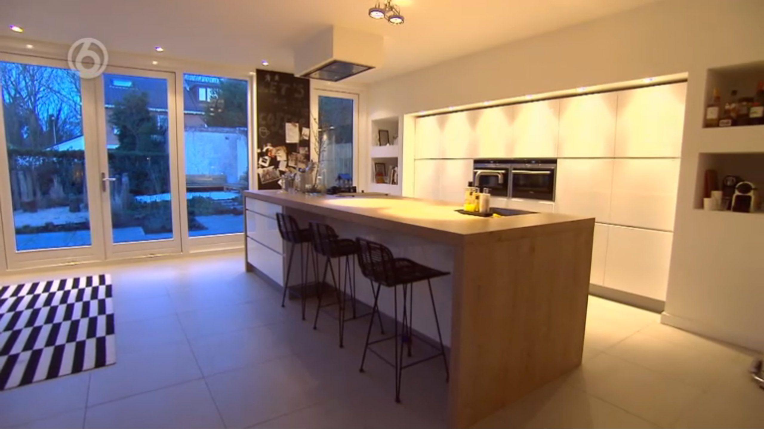 Mooie nis voor keukenwand keuken inspiratie