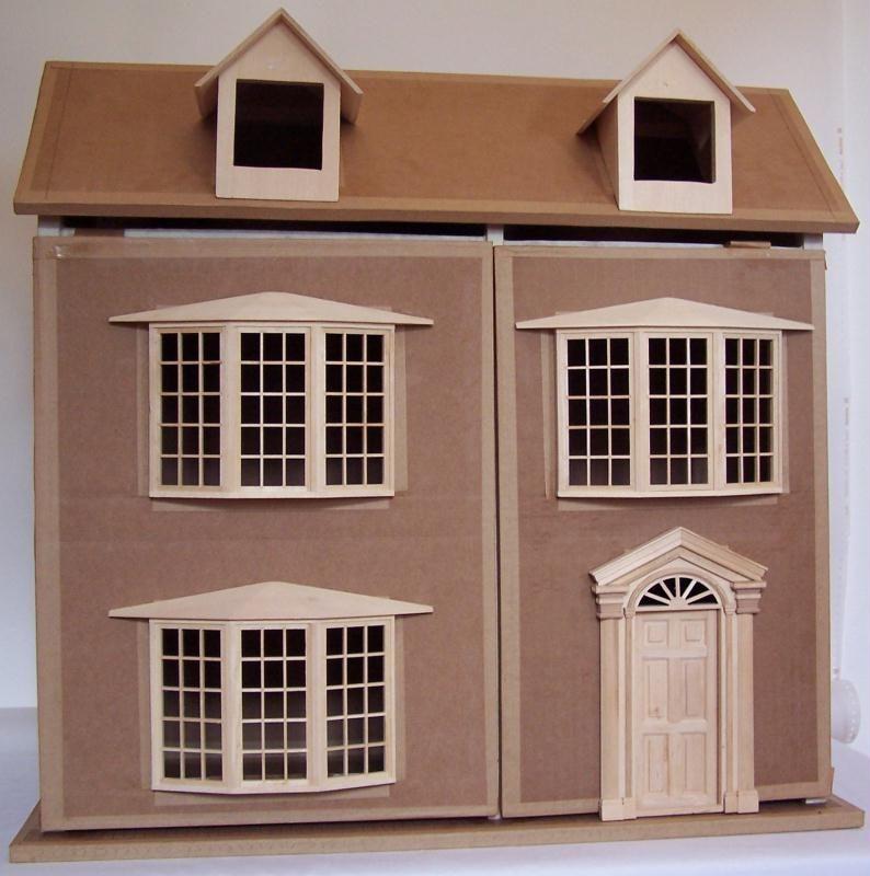 Maison de poupee cr ation meuble en carton de maison carton n 26 916 vue 8 949 fois - Maison pret a decorer ...