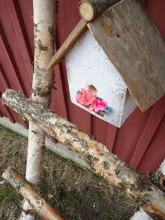 Birdhouse with a flower box!