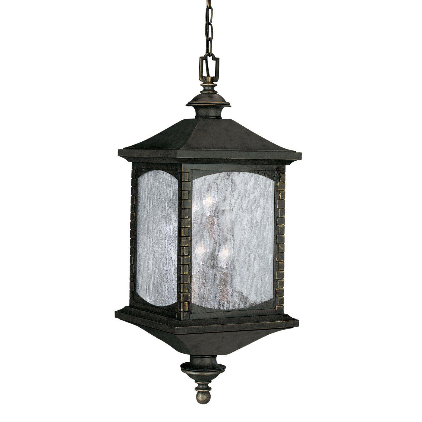 Thomas Lighting M5405 40 6 Light Tudor Row Outdoor Pendant