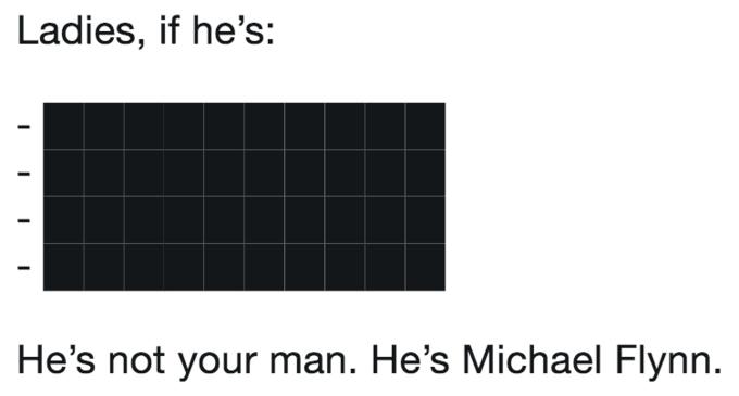 Michael Flynns Redacted Russian Investigation Memo Pop Culture