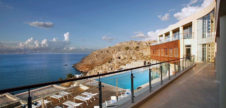 Luxury Hotel In Rhodes Lindos Blu Rhodos Island Greece