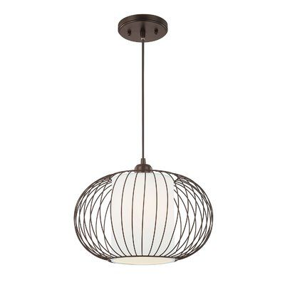 Perfect above the foyer or dining table this pendant casts a warm glow over any space
