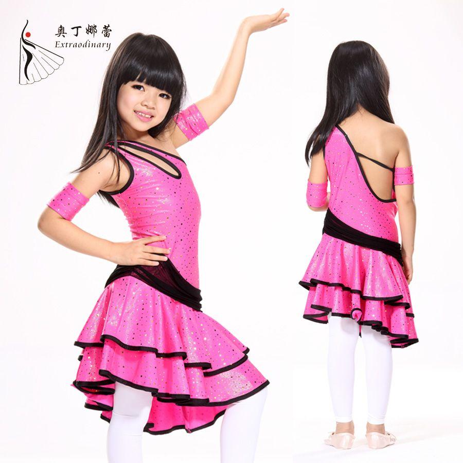 Children Latin Dress Samba Dance Latin Salsa Dresses Dance