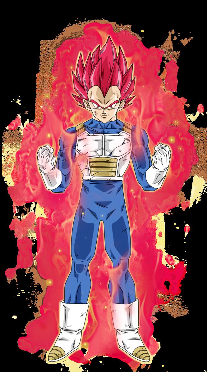 Vegeta super saiyan rojo por no decir dios dragon ball z - Foto goku super saiyan god ...