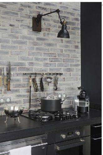 Kitchen Wall Light Roundup Kitchen Design New Kitchen Grey Brick
