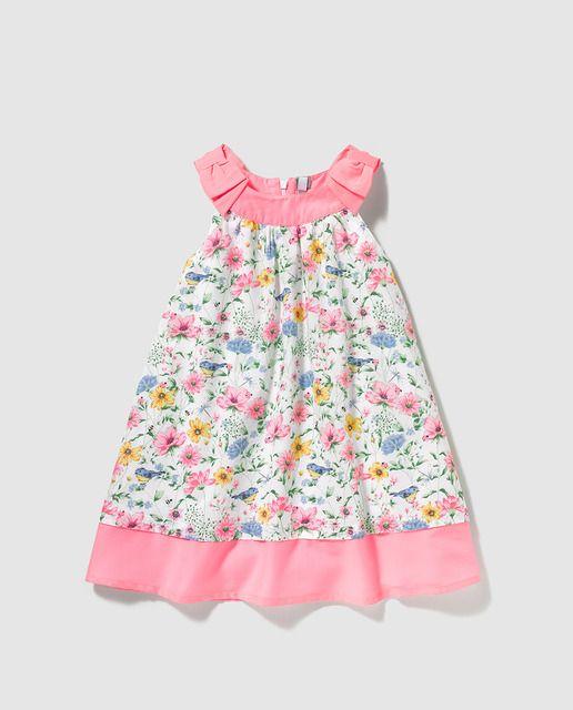 c59dc2cfa Vestido de niña Freestyle con estampado de flores | SS 2016 KIDS El ...