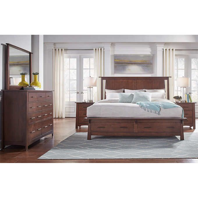 Merveilleux Callie 5 Piece King Storage Bedroom Set