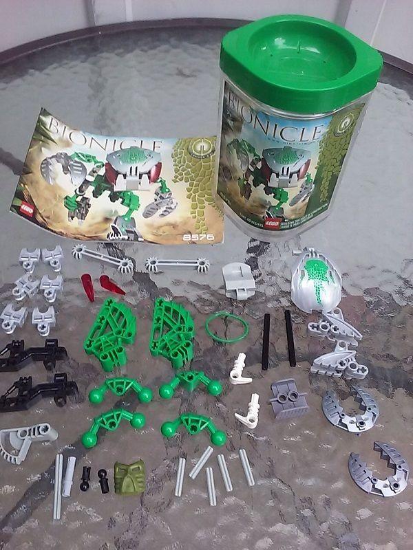 Lego Bionicle Bohrok Kal Lehvak Kal 8576 Figure Complete Set W ...