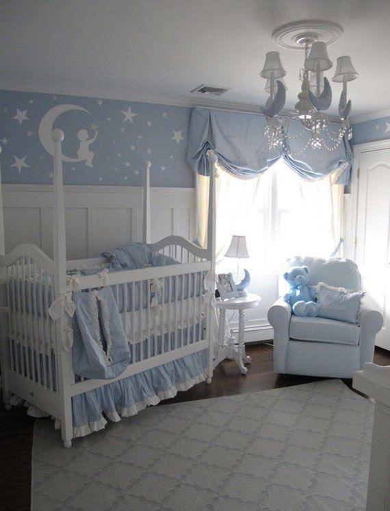 Best Impressive Interior Baby Blue Baby Nursery Home Decor 400 x 300