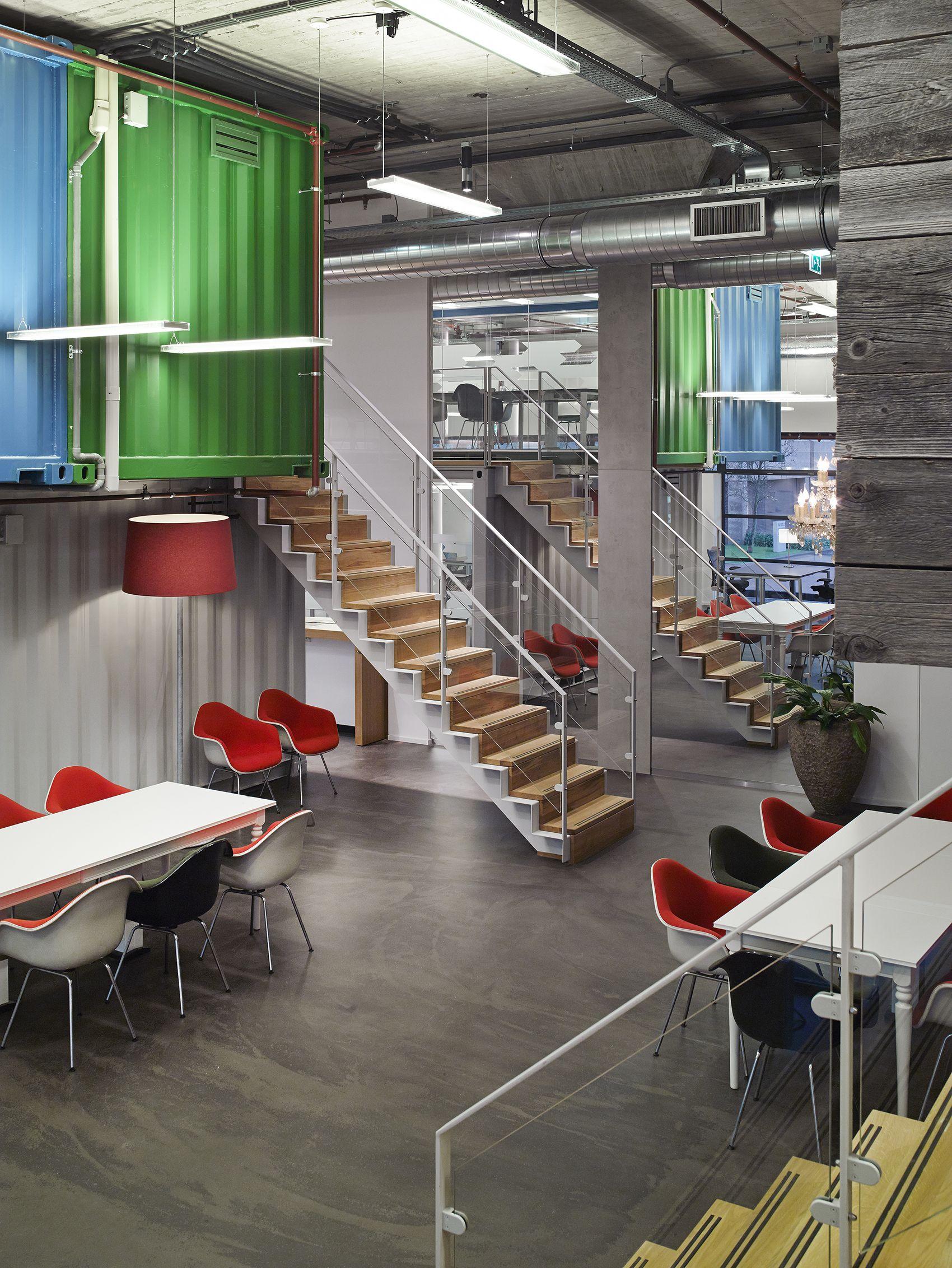 Amsterdam 39 s new coworking office interior design modern for Interieur design amsterdam