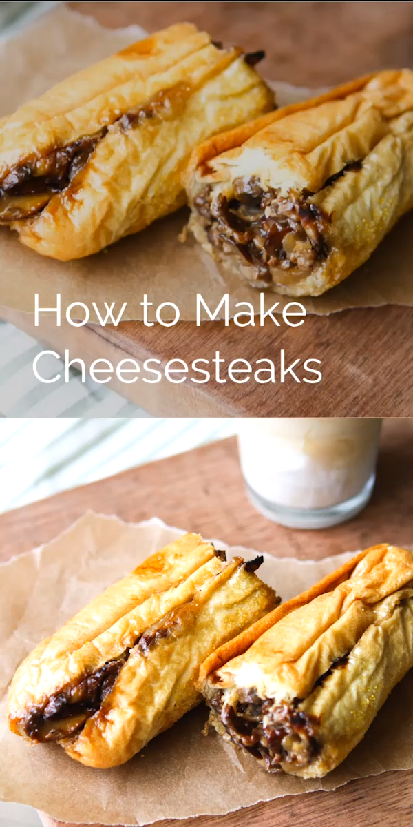 Our Favorite Cheesesteak Recipe | thelittlekitchen