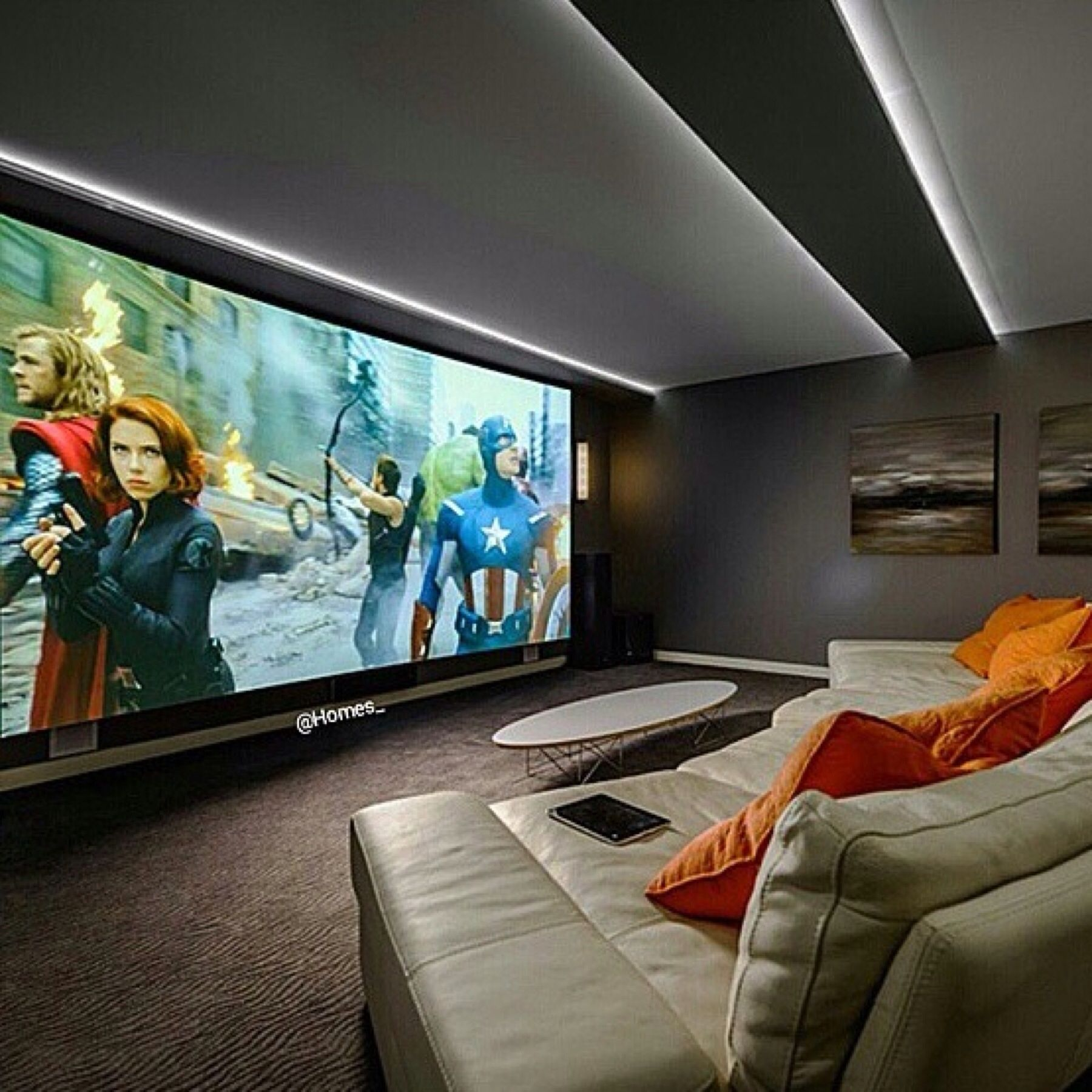 Salas De Cine En Casa: Sala De Cine En Casa