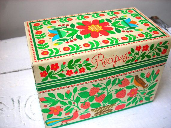 Decorative Food Boxes Best I Love Everything About Thisvintage Folk Scandinavian Metal Inspiration Design