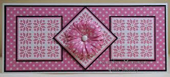 cards made using mexican tile pattern frame die - Google Search