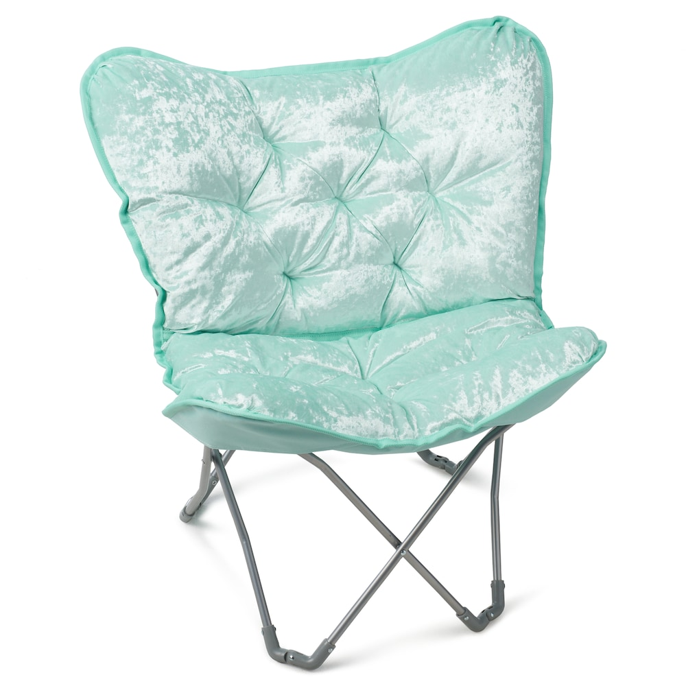 Simple By Design Sherpa Memory Foam Butterfly Chair In 2018