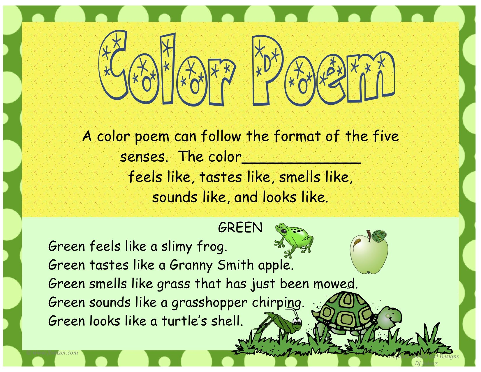 How to Write a Color Poem | classroom Helpers | Pinterest | Poem ...