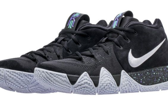 super popular 334ca 5b70b Detailed Look At The New Nike Kyrie 4 Black White Zapatos, Baloncesto,  Zapatillas Adidas