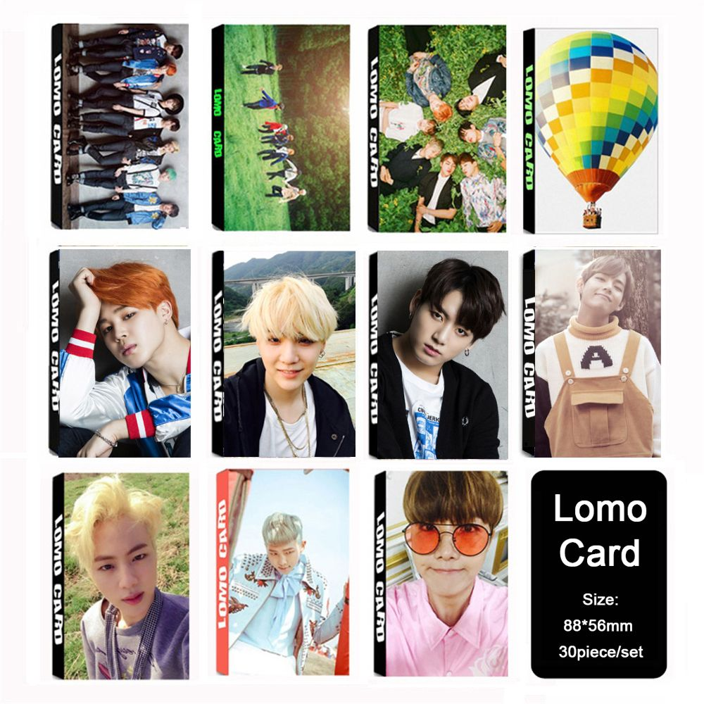 Youpop KPOP BTS Bangtan Boys TRẺ MÃI Album LOMO Thẻ K-POP Thời Trang