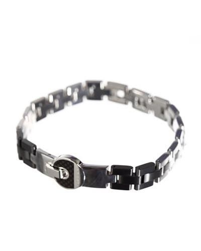 Zoppini Linked Stainless Steel Bracelet Jewelry