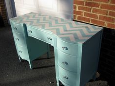 Eight Painted Desk Ideas