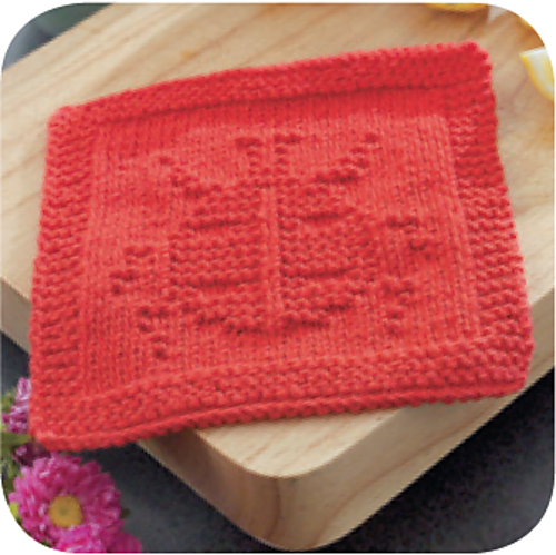 Ravelry: Ladybug Dishcloth Knook -by Melissa Bergland Burnham free pdf from L...