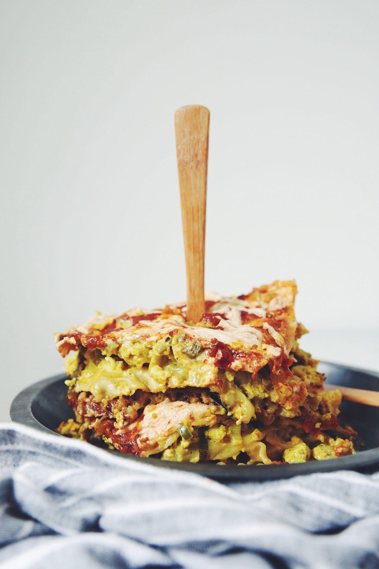 vegan breakfast lasagna | Breakfast lasagna, Vegan breakfast and Vegans