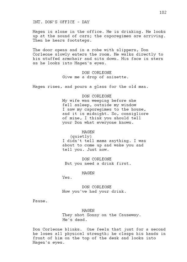 Unit 11 Script Writing LO1 Task 2 Script Writing