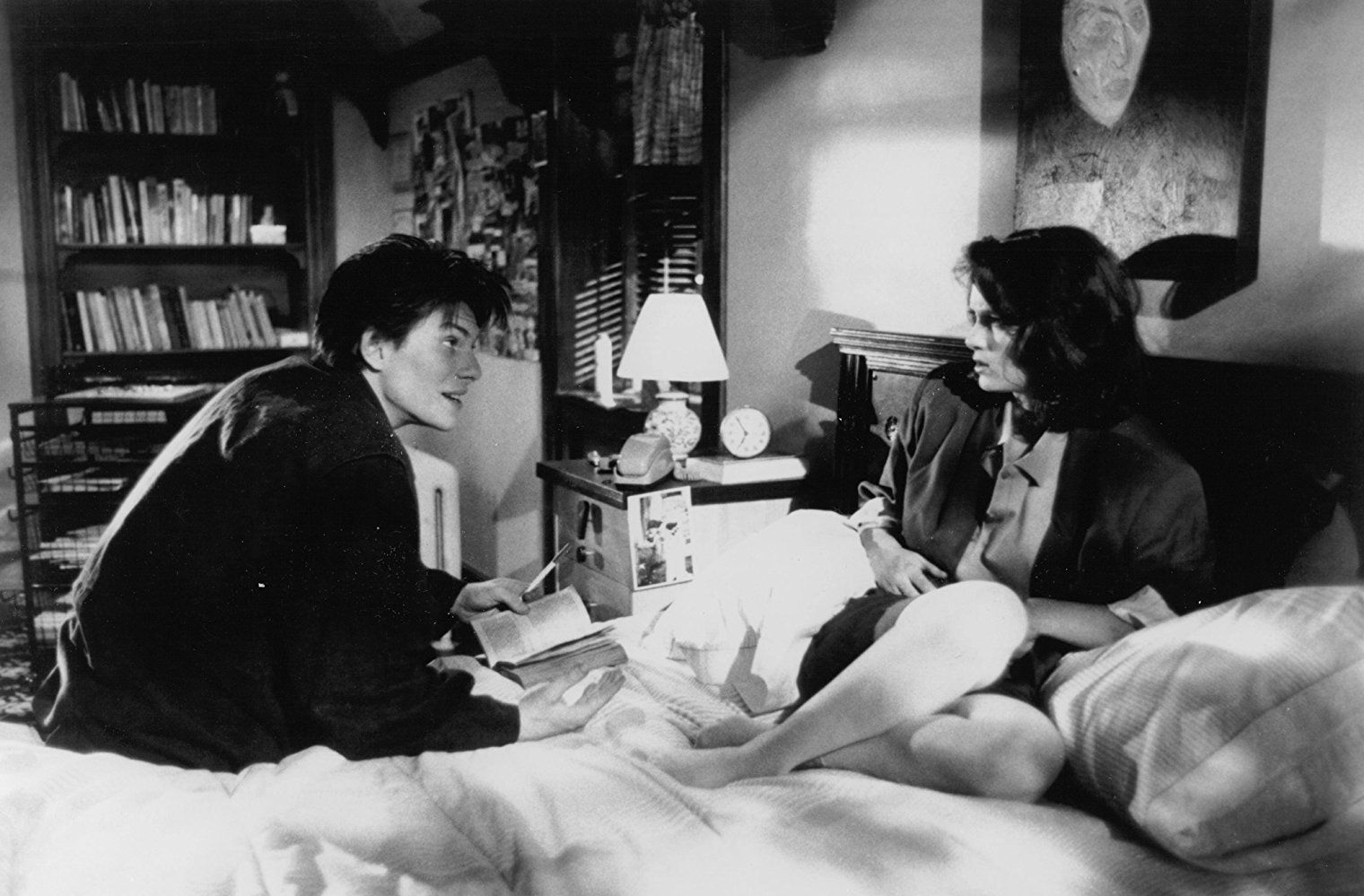 Winona Ryder and Christian Slater in Heathers (1988 ...