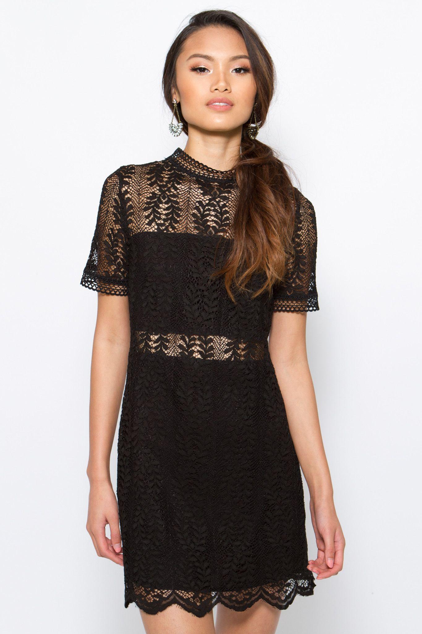 Tell Tale Dress. Tell Tale Dress Lace Dress Black ef9b20feb