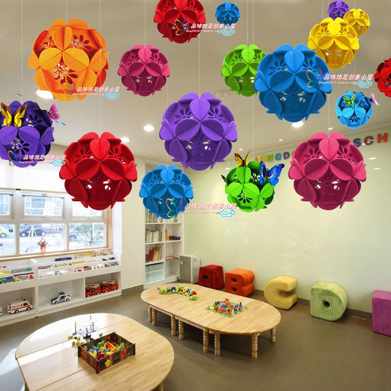 Store Opening Ceremony Decoration Aerial Ceiling Hanging Decoration Kindergarte Classroom Ceiling Decorations Hanging Classroom Decorations Art Classroom Decor