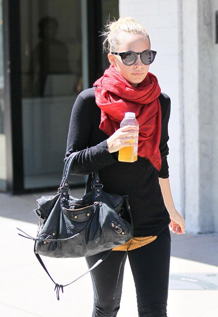 3b8f2ad17e Nicole Richie and her Many Balenciaga Bags