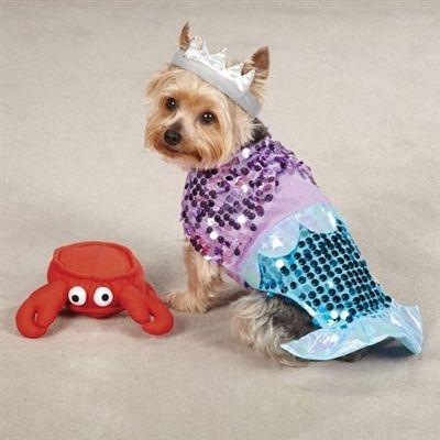 Mermaid Dog Costume Small Dog Costumes Pet Costumes Dog