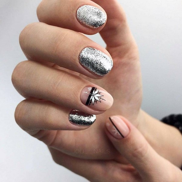 Trendy Manicure For The New Year 2020 Trends And Innovations Beautiful Photos Of The Ideas Of The New Year S Manicure New Year S Nails Manicure Nail Designs