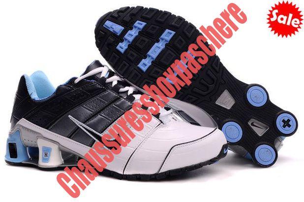 timeless design a37d4 816c7 ... best price 2014 chaussure nike shox nz homme bleu blanc noir rqjj 27153  db95b 900c3