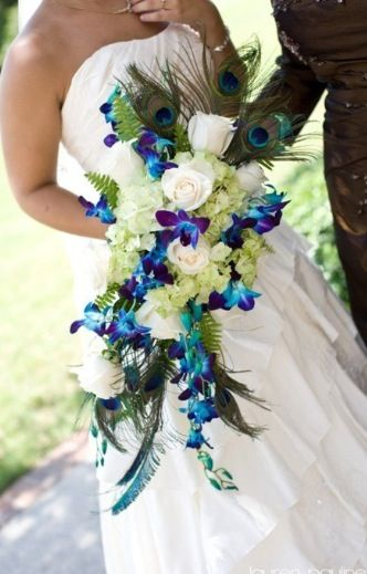 Theme of my wedding... Based around this bouquet