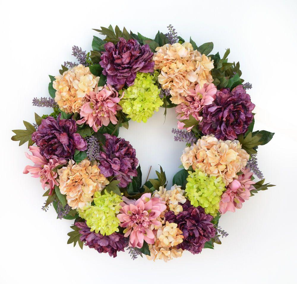 Spring wreath image by marciatreasures on Elegant
