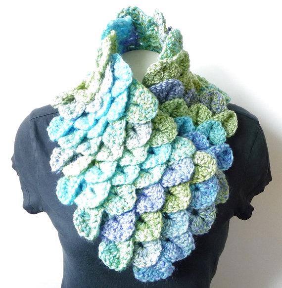 Crochet Cowl Scarf Pattern Crochet Pattern Infinity By Zxcvvcxz