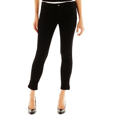 bfd93ee11c a.n.a® Ankle-Zip Skinny Jeans - jcpenney | How to Wear: Denim Shirt ...