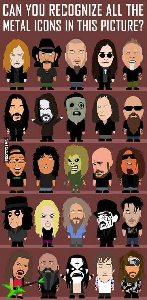 Who The Heck Is The Guy With The Glasses Heavy Metal Music Metal Music Heavy Metal