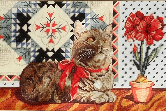 Cats and Quilts  One from Canterbury Designs by carolinagirlz2, $5.00