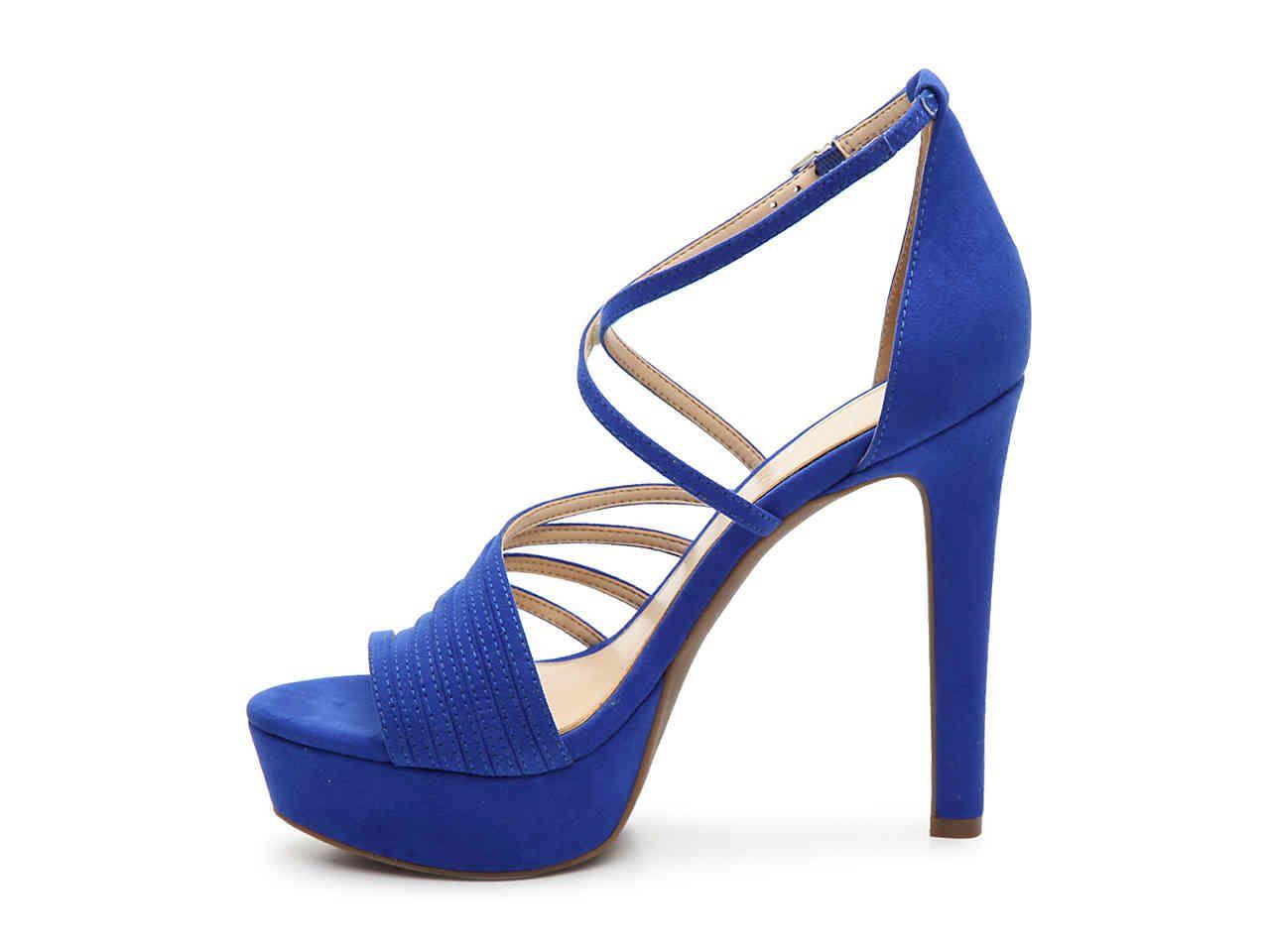 f9710d0377 Women Bravani Platform Sandal -Beige Faux Patent Leather