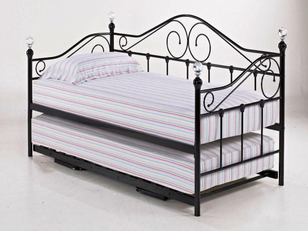Iron Daybed Trundle Bed Metal Daybed With Trundle Daybed With